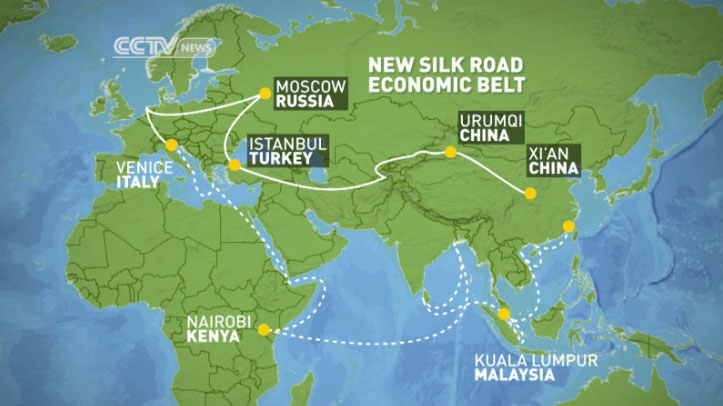 From The Ancient Silk Road To The One Belt One Road Initiative